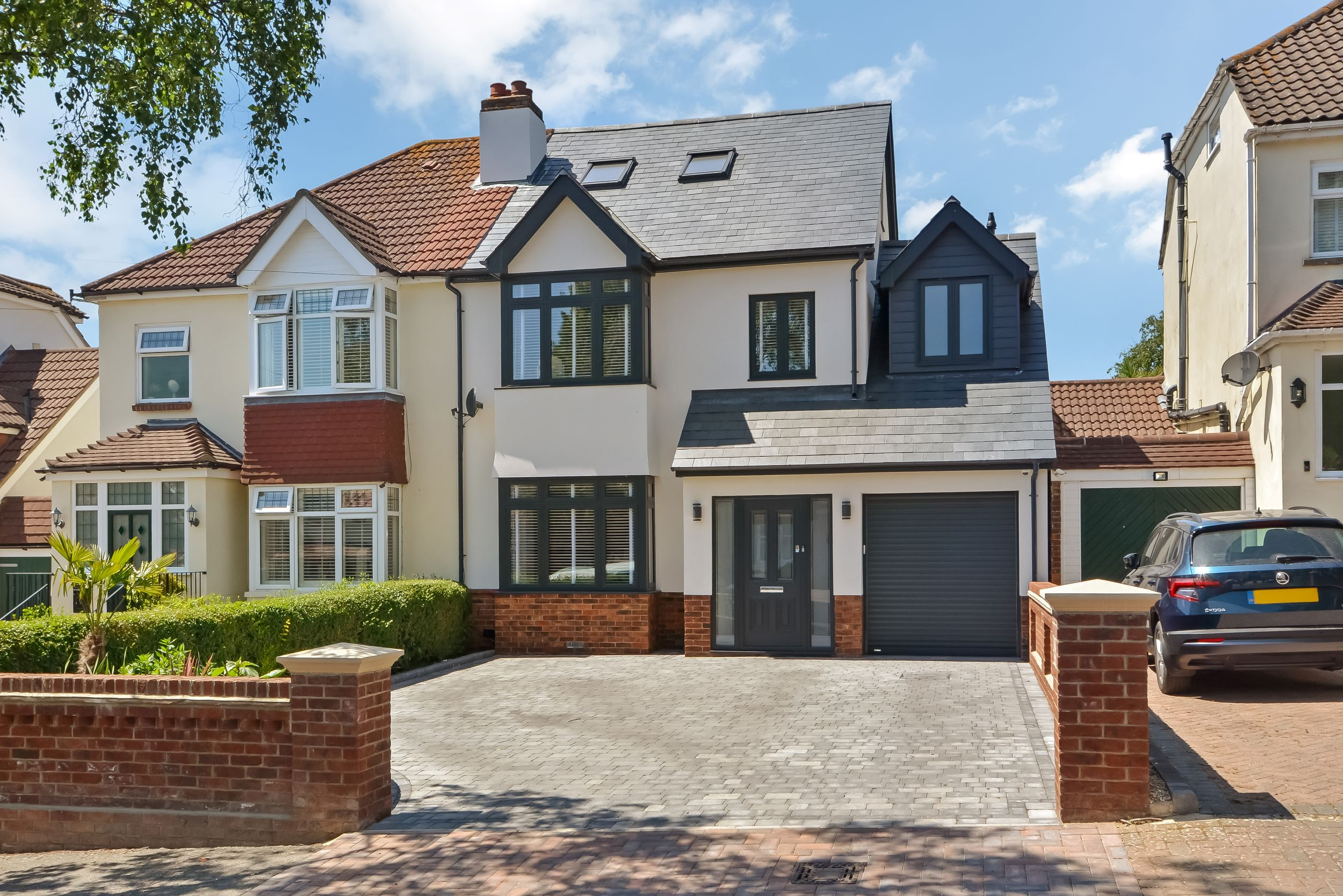 After photo of house renovation and loft conversion in Portsmouth by building consultants Thorns Young Architectural